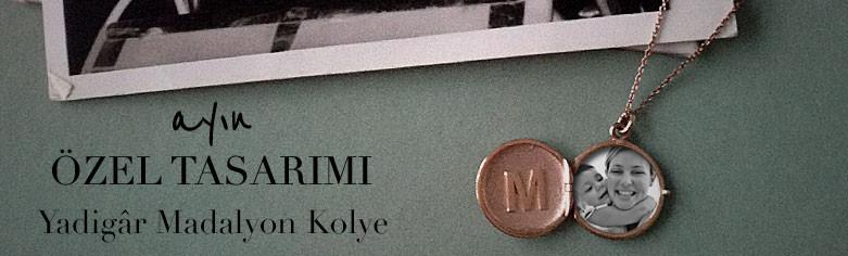 Yadigar Madalyon Kolye