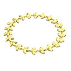 Lotus Bilezik - 925 ayar altın kaplama gümüş bilezik #hmqsv7