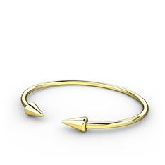 Mild Bilezik - 925 ayar altın kaplama gümüş bilezik #io4zhb