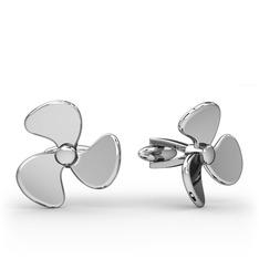 Gemici Kol Düğmesi - 925 ayar gümüş kol düğmesi #1mo5udv