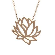 Lotus Çiçeği Kolye