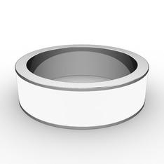 Lasa Yüzük - 925 ayar gümüş yüzük (Beyaz mineli) #75650r