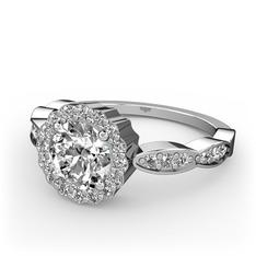 Blume Yüzük - Swarovski 925 ayar gümüş yüzük #10j1bnn