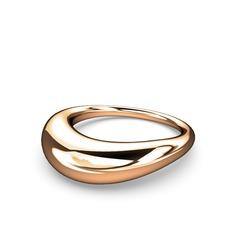 Helen Yüzük - 925 ayar rose altın kaplama gümüş yüzük #h6j8od