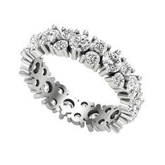 Büyük Elin Tamtur Yüzük - Swarovski 925 ayar gümüş yüzük #1mt8q3t