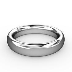 Klasik Alyans - 925 ayar gümüş yüzük #4f19fa